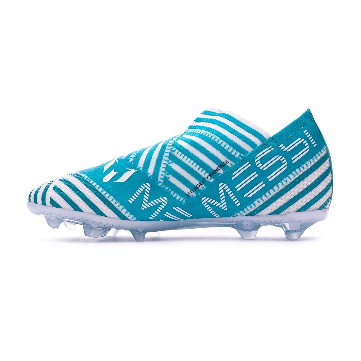 8c5283c39386 Football Boots adidas Kids Nemeziz Messi 17+ 360 Agility FG Legend  ink-Solar yellow-Energy blue - Football store Fútbol Emotion