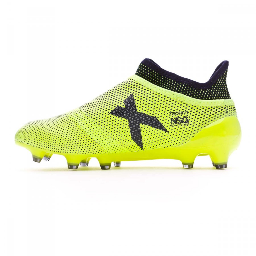 5e9ab546978 Football Boots adidas Kids X 17+ Purespeed FG Solar yellow-Legend ink -  Football store Fútbol Emotion