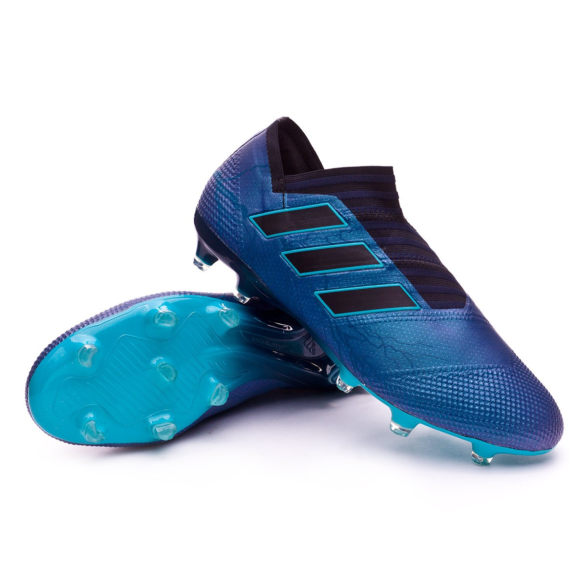huge discount c30c3 0f4e4 Chaussure de foot adidas Nemeziz 17+ 360 Agility FG Core black-Energy blue  - Boutique de football Fútbol Emotion