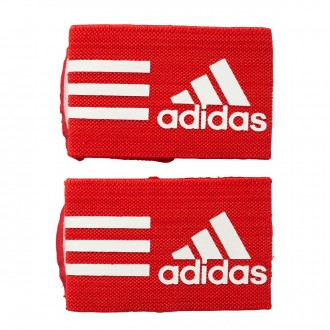 adidas Sujeta Espinilleras Ankle Strap Red-White