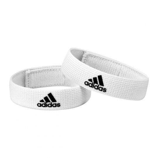adidas Sujeta Medias Sock Holder White-Black
