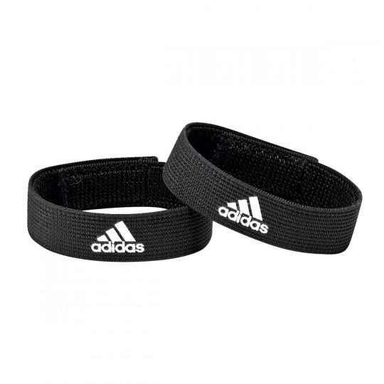 adidas Sujeta Medias Sock Holder Black-White
