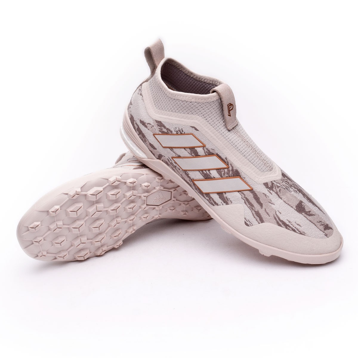 finest selection cd299 e0392 adidas Pogba Ace 17+ TR Trainers. Clear brown-Light ...