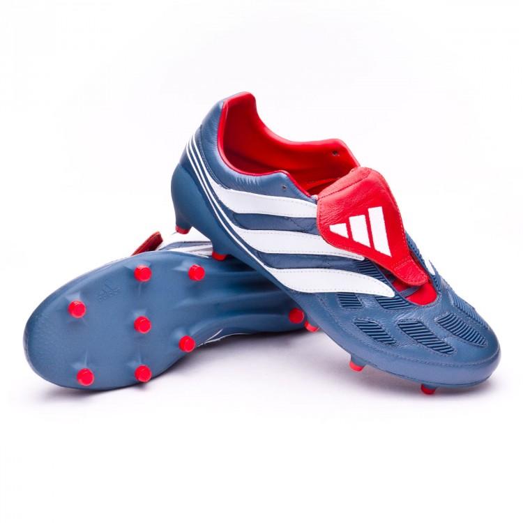 Bota de fútbol adidas Predator Precision FG Blue grey-White ... 289dd15a6d3cb