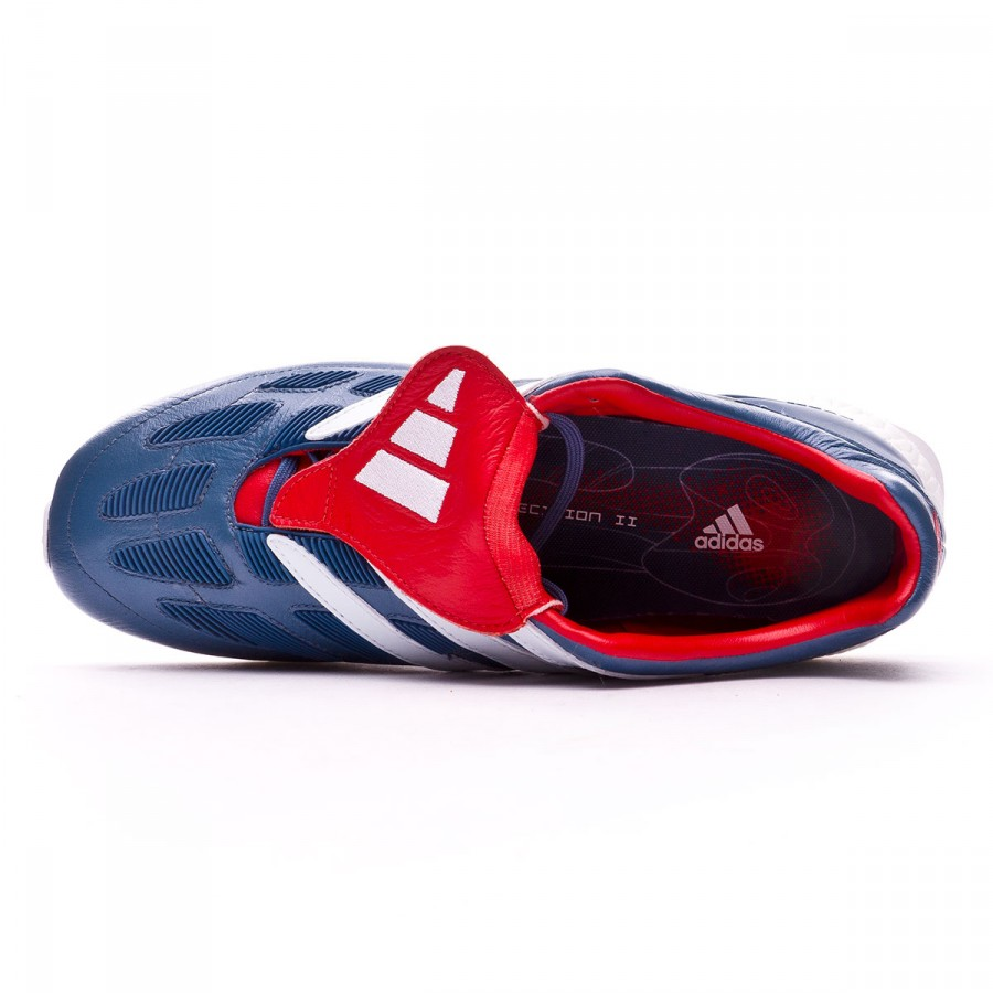 f96305cdffaa Trainers adidas Predator Precision TR UltraBoost Blue grey-White-Collegiate  red - Football store Fútbol Emotion