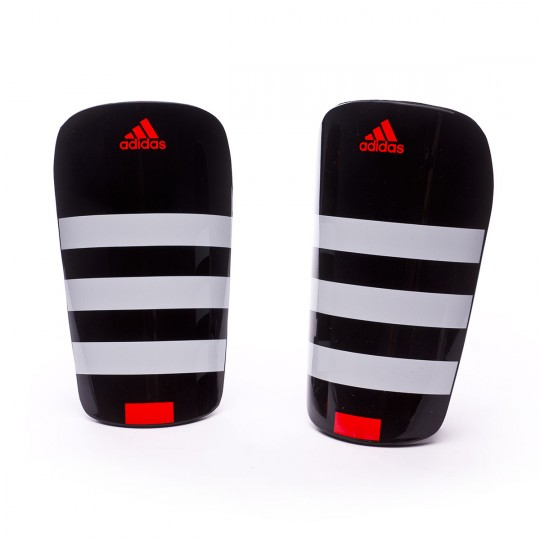 Espinillera  adidas Everlesto White-Black-Solar red