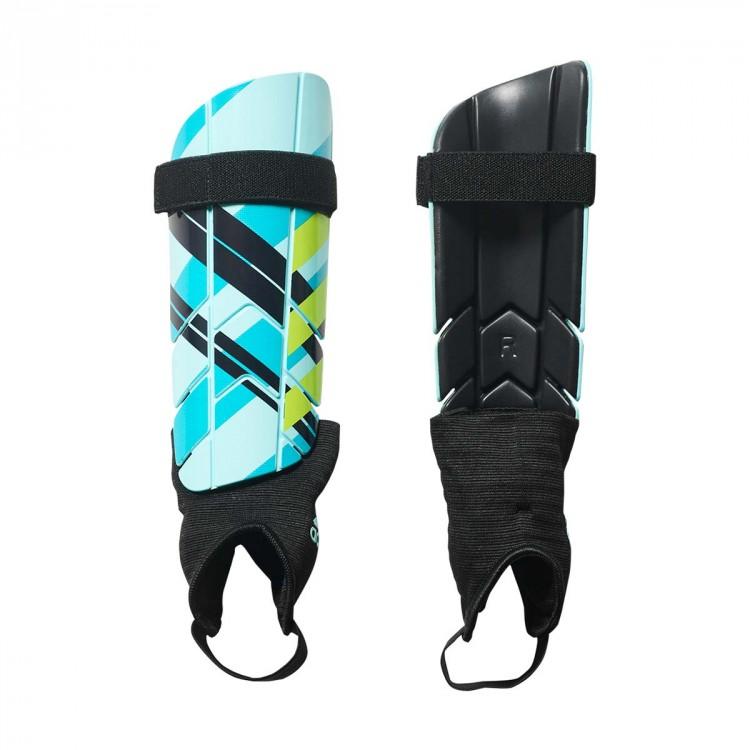 adidas Shin Pads Ghost Reflex - Legend Ink/Energy Blue/Energy Aqua Image