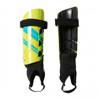 Shinpads  adidas Ghost Reflex Solar yellow chrome-Bright yellow-Legend ink