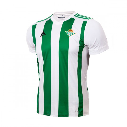 Camiseta  adidas Real Betis Primera Equipación 2017-2018 Niño White-Green