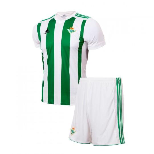 Conjunto  adidas Mini Betis Primera Equipación 2017-2018 White-Green