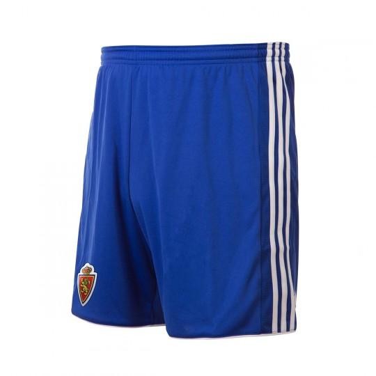Pantalón corto  adidas Real Zaragoza Primera Equipación 2017-2018 Bold blue-White
