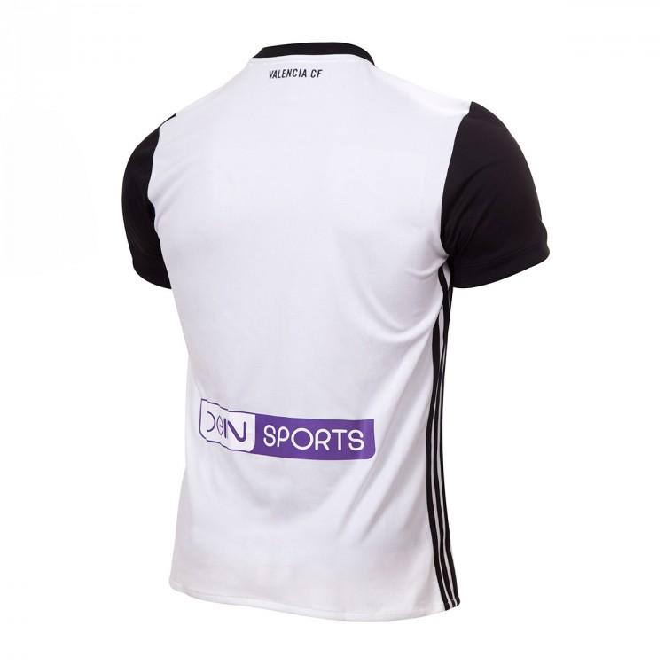 7d2ec94c703 Jersey adidas Valencia CF Home 2017-2018 White-Black - Soloporteros ...