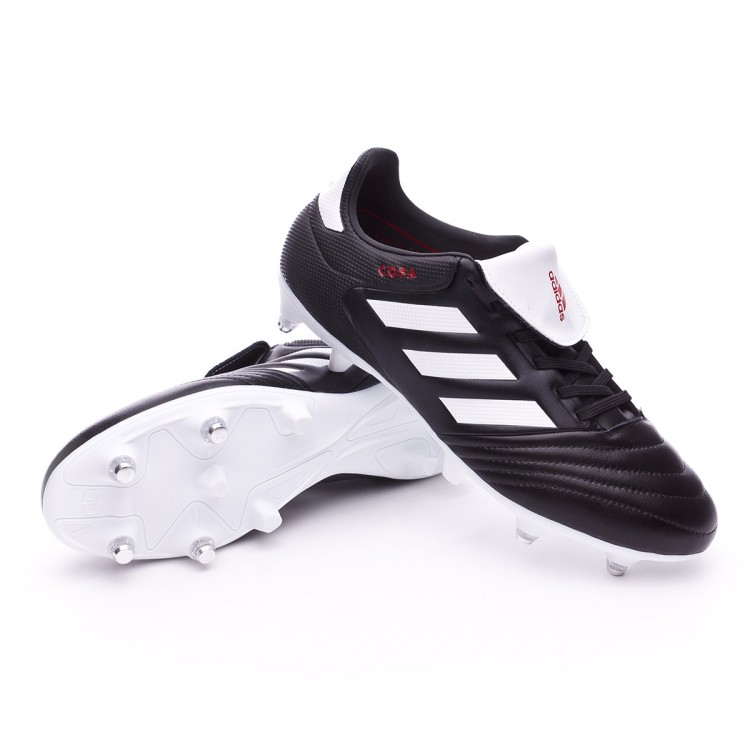 050d8cd4b349 Football Boots adidas Copa 17.3 SG Core black-White-Red - Tienda de ...