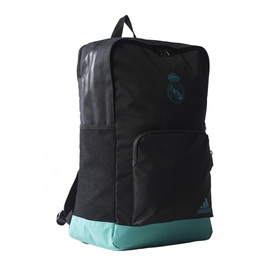 Mochila  adidas Real Madrid 2017-2018 Black-Aero reef
