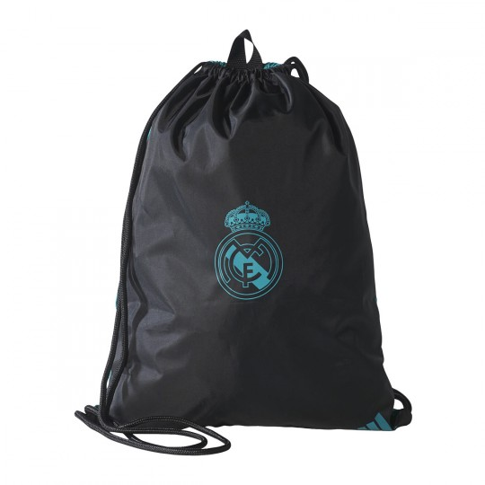 Mochila  adidas Gymbag Real Madrid 2017-2018 Black-Aero reef