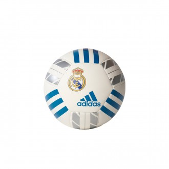 Bola de Futebol  adidas Mini Real Madrid 2017-2018 White-Vivid teal