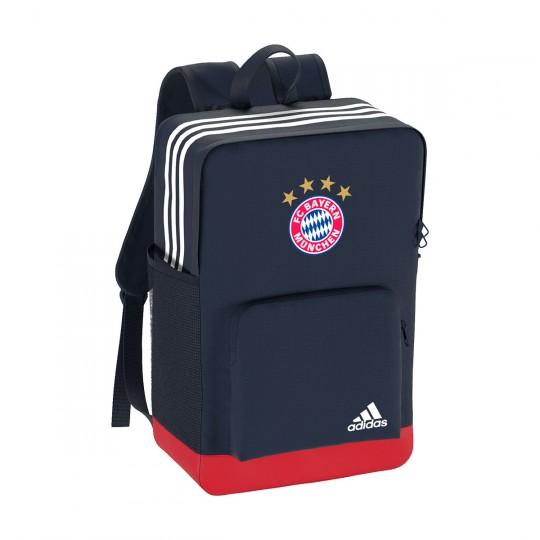 Mochila  adidas FC Bayern Munich 2017-2018 Collegiate navy-True red