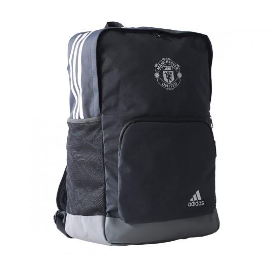 Mochila  adidas Manchester United FC 2017-2018 Night grey-Grey-White