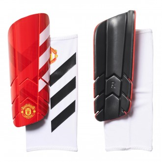 Caneleira  adidas Manchester United FC Pro Lite 2017-2018 Real red-White