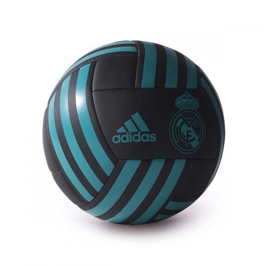 Balón  adidas Real Madrid FBL 2017-2018 Black-Aero reef