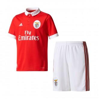 Conjunto  adidas SL Benfica Primera Equipación 2017-2018 Niño Benfica red-White
