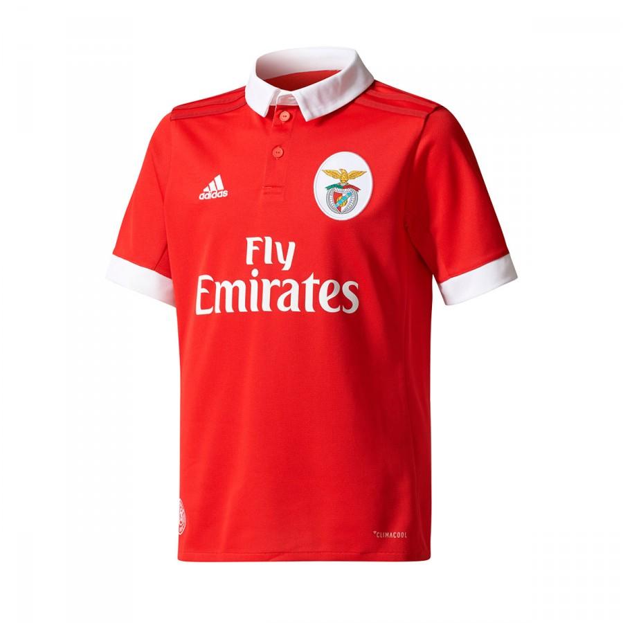 e37d352052fcb Conjunto adidas SL Benfica Primera Equipación 2017-2018 Niño Benfica  red-White - Tienda de fútbol Fútbol Emotion