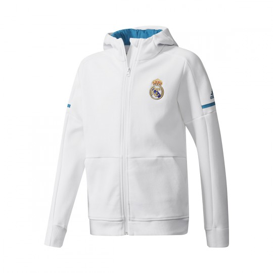 Chaqueta  adidas jr Real Madrid Squad 2017-2018 White