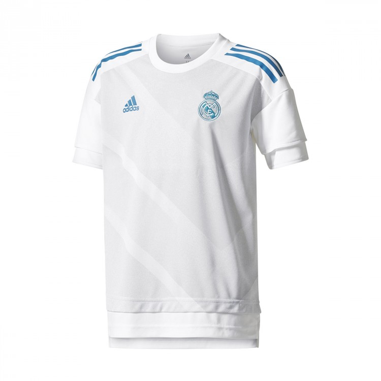 da101caa2 Jersey adidas Kids Real Madrid Long Home Kit 2017-2018 White-Halo ...
