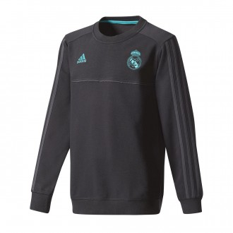 Sudadera  adidas Real Madrid Top 2017-2018 Niño Black