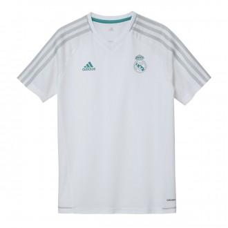 Camiseta  adidas Real Madrid Training 2017-2018 Niño White