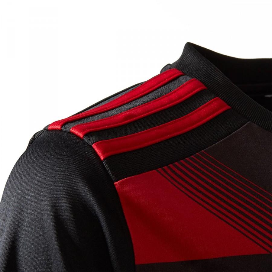943698e5e Camiseta adidas AC Milan Tercera Equipación 2017-2018 Niño Black-Victory  red - Tienda de fútbol Fútbol Emotion
