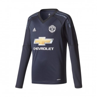 Camisola  adidas Jr Manchester United FC Principal 2017-2018 Portero Legend ink-Trace blue
