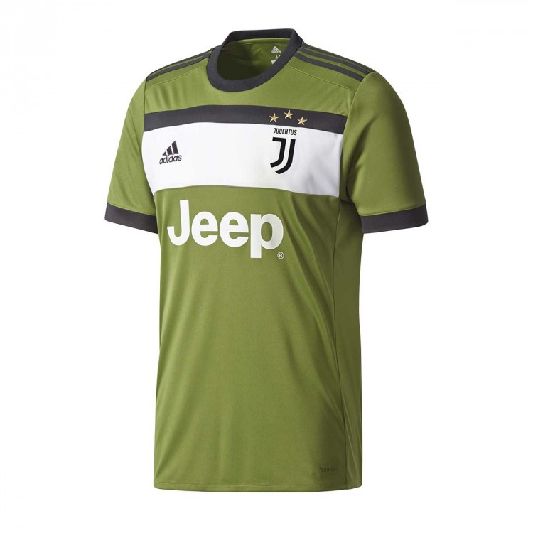 Jersey adidas Jr Juventus 3ª 2017-2018 Craft green-Black ... 9c719fe2cff0f