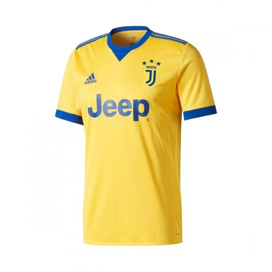 Camisola  adidas Jr Juventus Alternativo 2017-2018 Bold gold-Collegiate royal