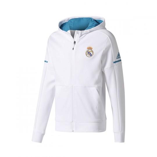 Chaqueta  adidas Real Madrid Squad Home 2017-2018 White