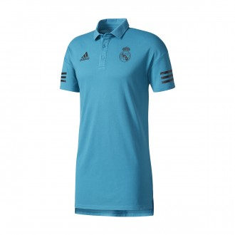 Polo  adidas Real Madrid UCL 2017-2018 Vivid teal