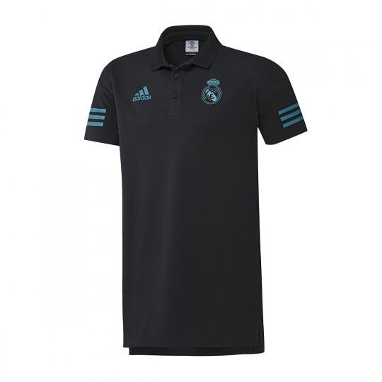 Polo  adidas Real Madrid UCL 2017-2018 Black