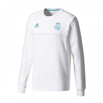 Sudadera  adidas Real Madrid Sweat Top 2017-2018 White