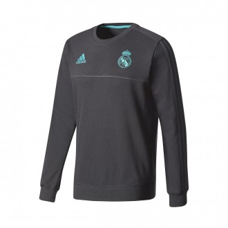 Sudadera  adidas Real Madrid Sweat Top 2017-2018 Black