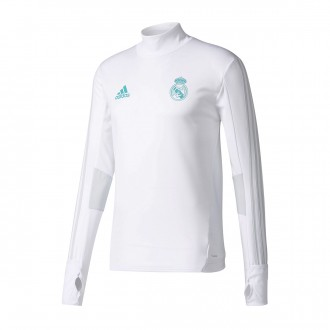 Sudadera  adidas Real Madrid Training Top 2017-2018 White-Clear grey