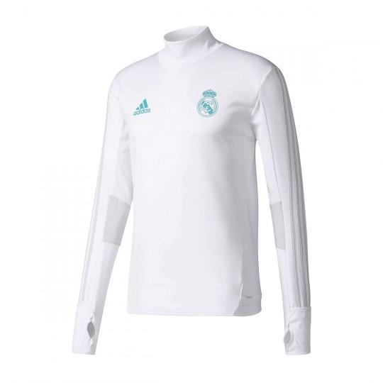 Sudadera  adidas Real Madrid Training Top 2017-2018 White-Clear grey