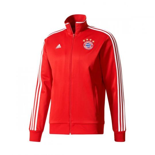 Chaqueta  adidas FC Bayern Munich 3S Top 2017-2018 True red-White