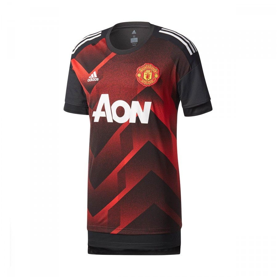 Adidas 2017 United Prematch Manchester Camiseta Fc 2018 Real Red pwnZdCqP