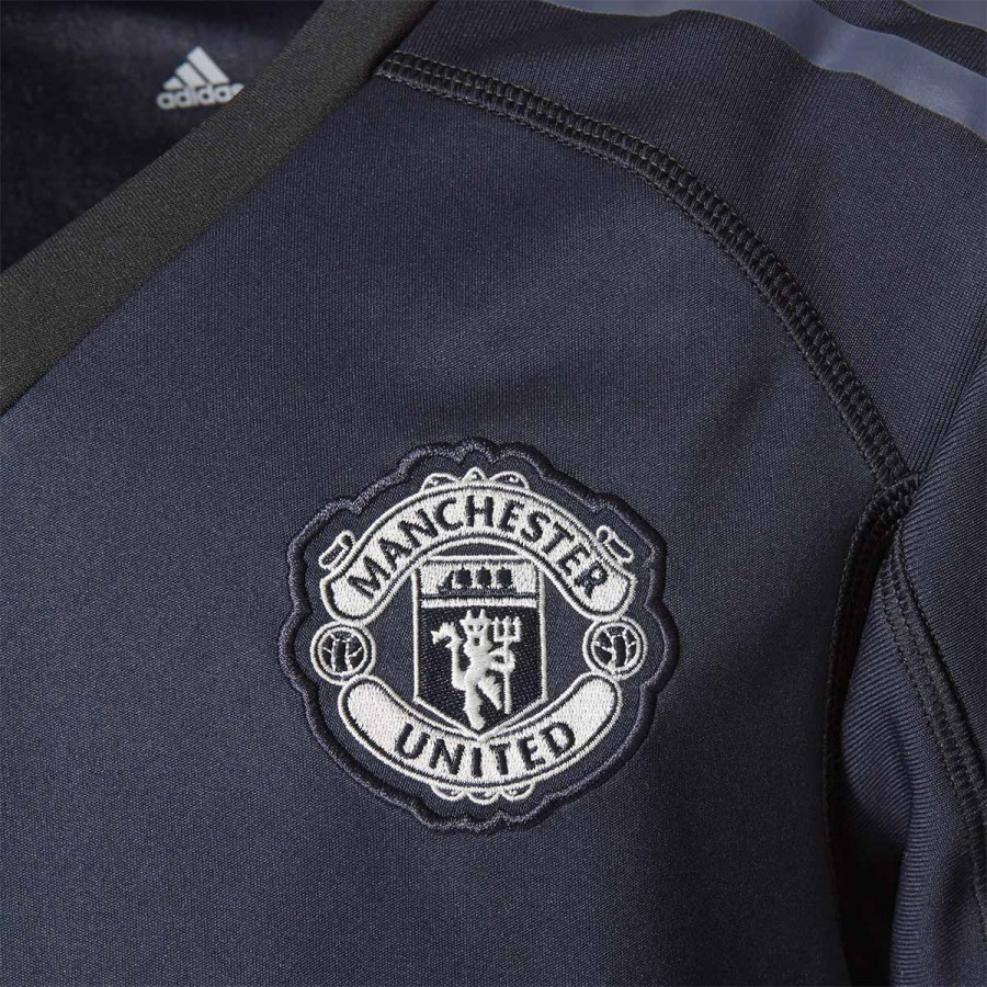 97fe249c5 Jersey adidas Manchester United FC Home 2017-2018 Goalkeeper Legend ink-Trace  blue-Solid grey - Football store Fútbol Emotion