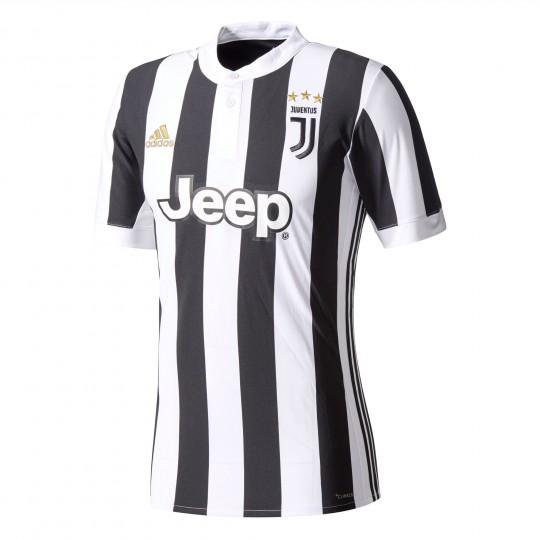 Camiseta  adidas Juventus Primera Equipación 2017-2018 White-Black