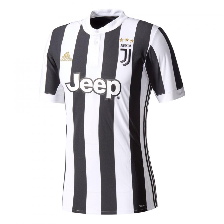 6dcf0c672 Camisola adidas Juventus Principal 2017-2018 White-Black - Loja de futebol  Fútbol Emotion
