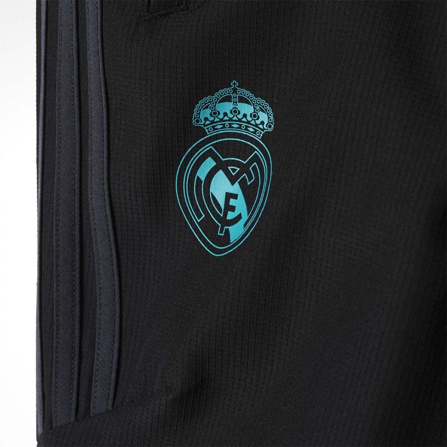 2d8b27b3e561a Chándal adidas Real Madrid Presentación 2017-2018 Niño Black-Solid grey -  Tienda de fútbol Fútbol Emotion