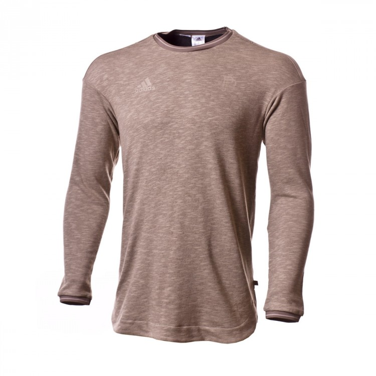 d122fd2d857e Sweatshirt adidas Pogba Tango SWT Light brown - Leaked soccer