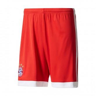 Pantalón corto  adidas FC Bayern Munich Primera Equipación 2017-2018 Niño True red-White