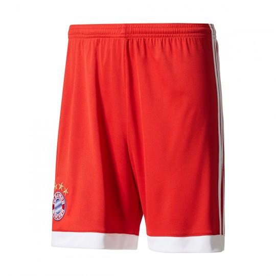 Pantalón corto  adidas jr FC Bayern Munich Home 2017-2018 True red-White